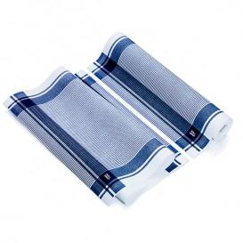 """Kuchyňské Utěrky v Roli """" Roll Drap """" Vintage Modrý 40x64cm P64cm (10 Kousky)"""