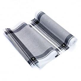 """Kuchyňské Utěrky v Roli """" Roll Drap """" Vintage Černá 40x64cm P64cm (10 Kousky)"""