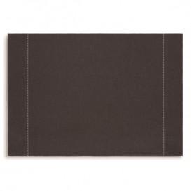 """Papírové Prostírání """" Day Drap """" Anthracite 32x45cm (72 Kousky)"""