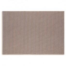 """Papírové Prostírání """" Day Drap """" Modre Čáry 32x45cm (72 Kousky)"""