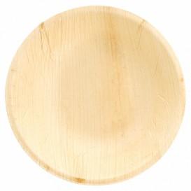 Misky Kulatý z Palmových Listů Ø18x3,5cm (200 Kousky)