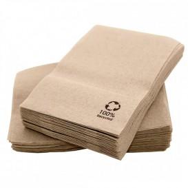 """Papírové Ubrousky Eco """" Recycled """" 17x17cm (200 Kousky)"""