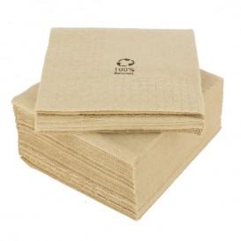 """Ubrousky Dekorativní """"Okraj"""" Eco """" Recycled """" 20x20cm 2 Vrstvy (100 Kousky)"""
