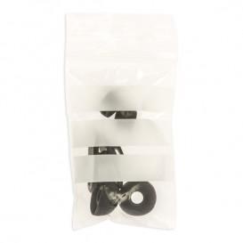 Popisovatelné Rychlozavírací Tašky se Zipem 4x6cm G200 (100 Kousky)