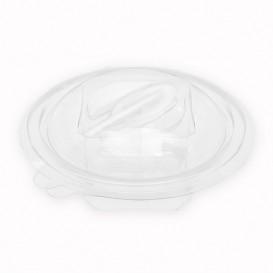 Misky Kulatý s Víčkem APET s lžíce 150ml Ø120mm (60 Kousky)