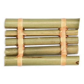 "Bambusový Podnos "" Lodička "" 8x5cm (24 Kousky)"