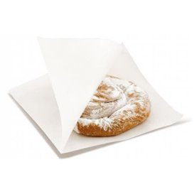 """Paper Food Bag Grease-Proof Opened 2L """"News"""" 15x16cm (250 Units)"""