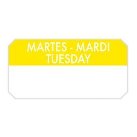 "Etikety na Roli ""Tuesday"" 5x2,5cm (1.000 Ks)"
