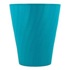 """Plastové Kelímek PP """" X-Table """" Tyrkysová 320ml (128 Ks)"""