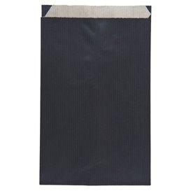 Papírová Kraft Obálka Černá 12+5x18cm (125 Kousky)