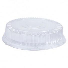Plastové Víčko na Kelímek Vypouklé Plastové PS Krystal Ø15x4cm (1000 Kousky)