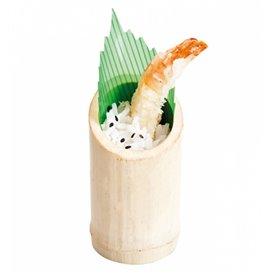 Bambusové Kelímek pro Ochutnávky 5x9cm (10 Kousky)