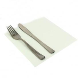 Papírové Ubrousky 40x40cm Bílá 2 Vrstvé (50 Kousky)